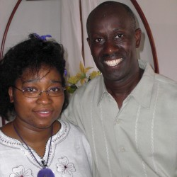 Yves and Micheline Bazile