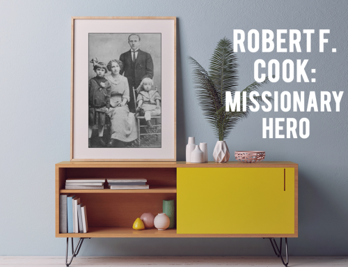 ROBERT F. COOK-APOSTLE OF GOD TO INDIA