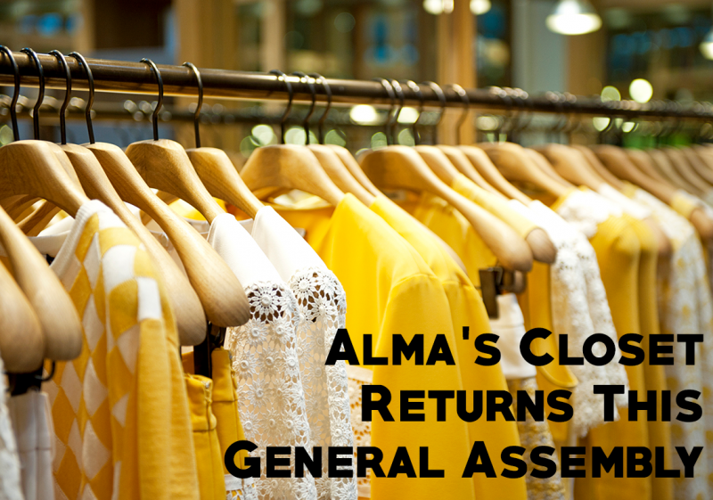 Alma's Closet Returns to GA2018