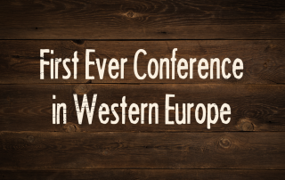 First Ever Conference In Western Europe