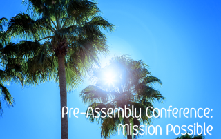 Pre Assembly Conference
