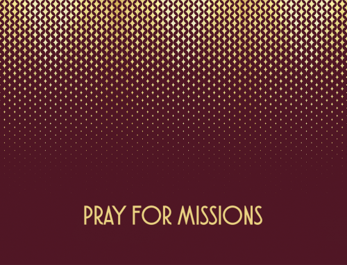 Pray for Missions