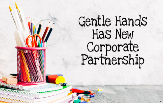 Gentle Hands has a new corporate partnership