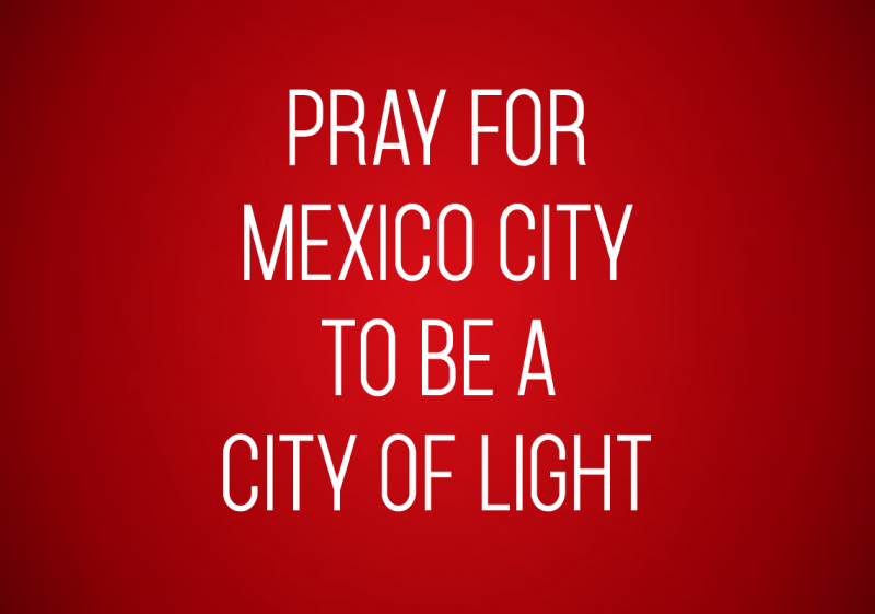 Pray for Mexico City