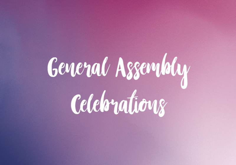 general assembly celebrations