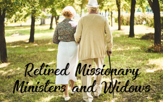 retired missionary ministers and widows
