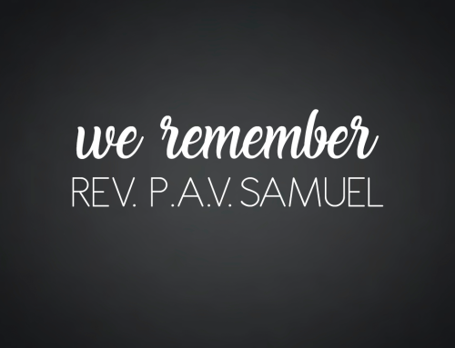World Missions Remembers P.A.V. Samuel