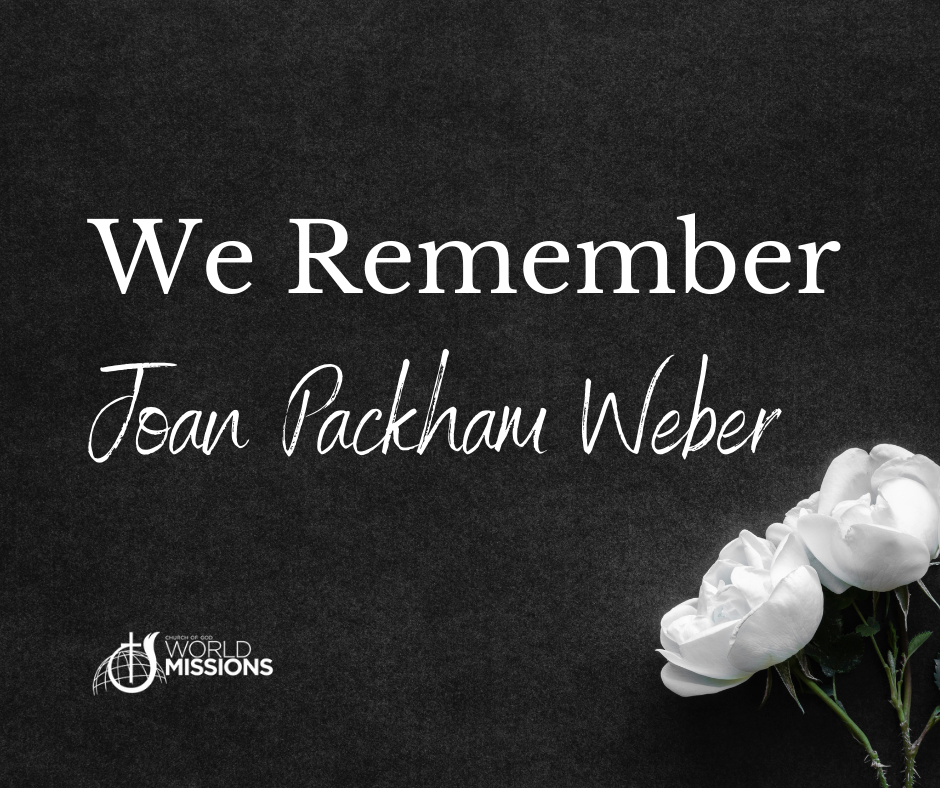 We Remember, Joan Packham Weber